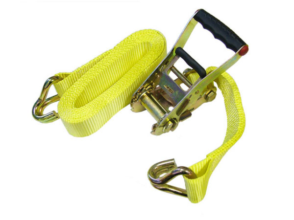 Ratchet Tie-Down 8m x 50mm Trucker Breaking Strain 4000kg