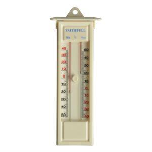 Thermometer Press Button Max-Min