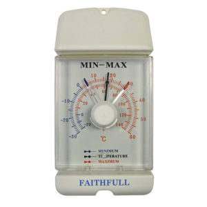 Thermometer Dial Max-Min