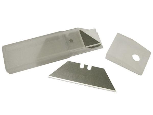 Heavy-Duty Trimming Knife Blades (Box 100) in safe storage dispenser