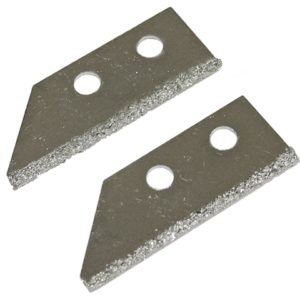 Replacement Carbide Blades For FAITLGROUSAW Grout Rake (Pack of 2)