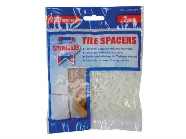 Tile Spacer Long Leg 2mm Bag of 250