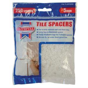 Tile Spacer Long Leg 5mm Bag of 250