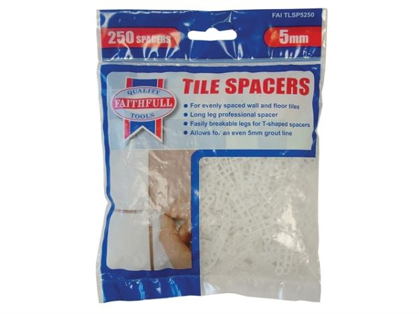 Tile Spacer Long Leg 5mm Bag of 250