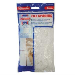 Tile Spacer Long Leg 5mm Bag of 500