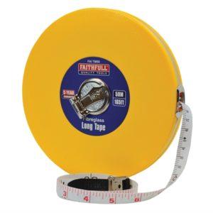Closed ABS Fibreglass Long Tape 50m/165ft (Width 13mm)