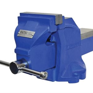 Mechanics Bench Vice With Anvil 100mm (4in)