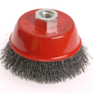 Wire Cup Brush 100mm x M14 x 2 Stainless Steel 0.30mm