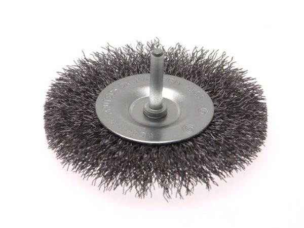 Wire Brush 100mm x 6mm Shank 0.30mm