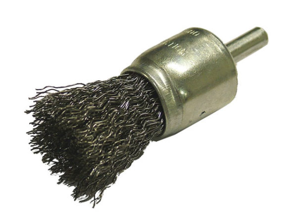 Wire End Brush 25mm Flat End