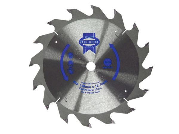 TCT Cordless Trimsaw Blade 150 x 10mm x 24T POS