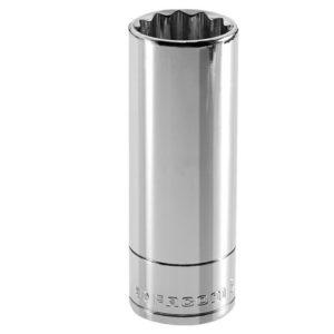 Bi-Hexagon Deep Socket 1/2in Drive 13mm