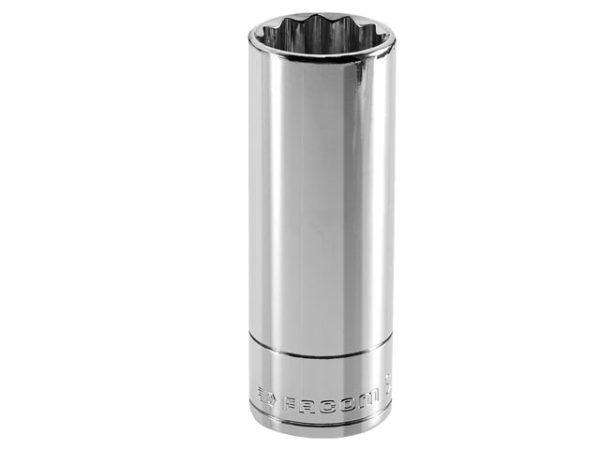 Bi-Hexagon Deep Socket 1/2in Drive 19mm