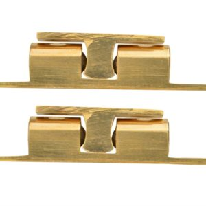 Double Ball Catch - Brass Finish (Pack 2)