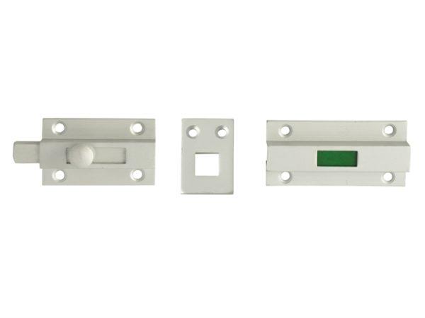 Indicator Bolt - Red / Green Aluminium