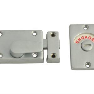 Indicator Bolt - Vacant/Engaged Chrome Plated