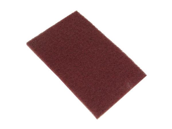 Hand Pads Maroon Standard Very Fine 150 x 223mm (10)