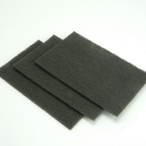 Hand Pads Grey Very Fine 150 x 223mm (10)