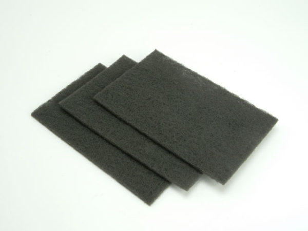 Hand Pads Grey Very Fine 150 x 223mm (10)