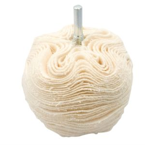 Scruff Ball 75mm / 3in Cotton Gloss Finish