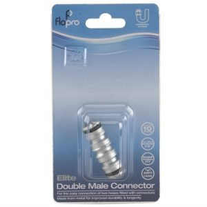 Flopro Elite Double Male Connector 12.5mm (1/2in)
