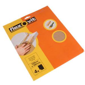 Glasspaper Sanding Sheets 230 x 280mm Medium 80G (15)
