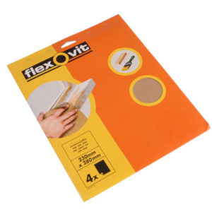 Glasspaper Sanding Sheets 230 x 280mm Coarse 50G (15)