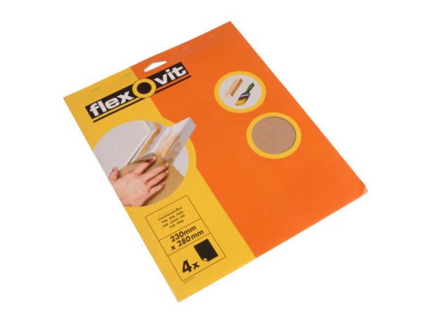 Glasspaper Sanding Sheets 230 x 280mm Assorted (25)