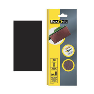 1/3 Sanding Sheets Plain Coarse 50 Grit (Pack of 10)