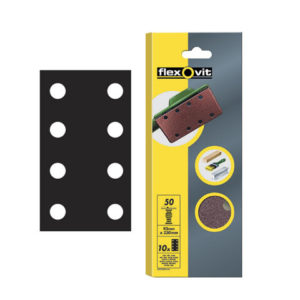 1/3 Sanding Sheets Perforated Medium 80 Grit (Pack of 10)