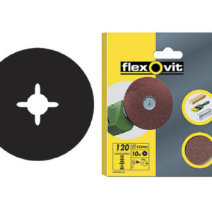 Drill Mountable Discs 125mm Coarse 50G (Pack of 10)