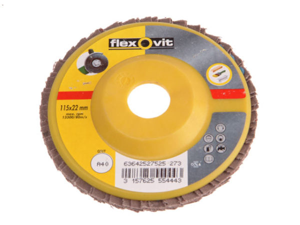 Flap Disc For Angle Grinders 115mm 40g
