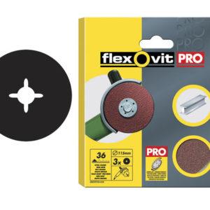 Aluminium Oxide Fibre Discs 115mm Fine 80G (Pack of 10)