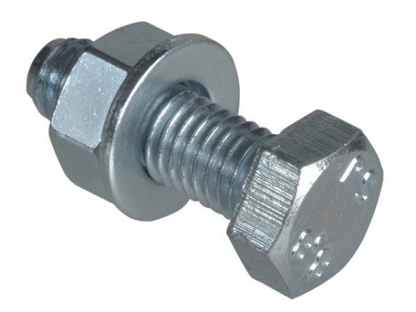 High Tensile Set Screw ZP M8 x 25mm Forge Pack 8