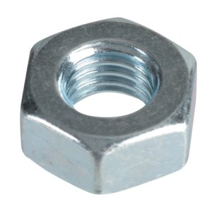 Hexagonal Nuts & Washers ZP M10 Forge Pack 10