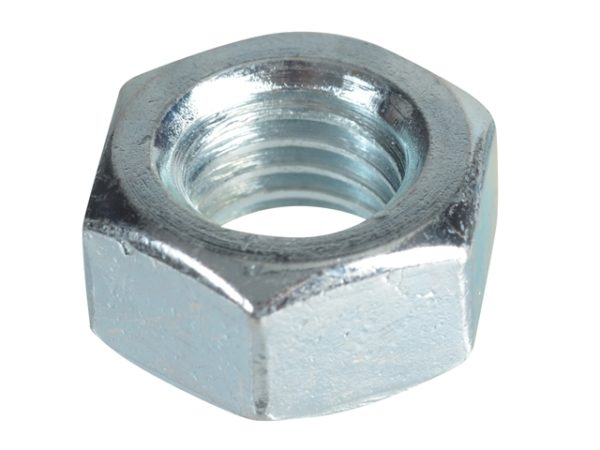 Hexagonal Nuts & Washers ZP M12 Forge Pack 6