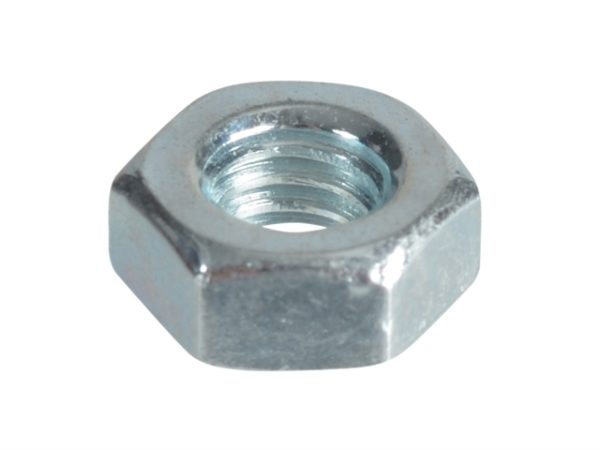 Hexagonal Nuts & Washers ZP M4 Forge Pack 50
