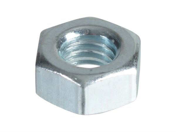 Hexagonal Nuts & Washers ZP M6 Forge Pack 25