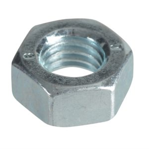 Hexagonal Nuts & Washers ZP M8 Forge Pack 16