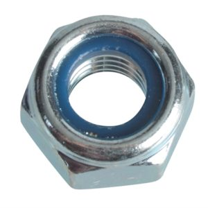 Nyloc Nuts & Washers Zinc Plated M10 Forge Pack 8