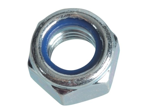 Nyloc Nuts & Washers Zinc Plated M12 Forge Pack 6