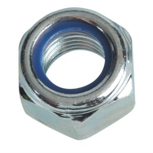 Nyloc Nuts & Washers Zinc Plated M16 Forge Pack 4