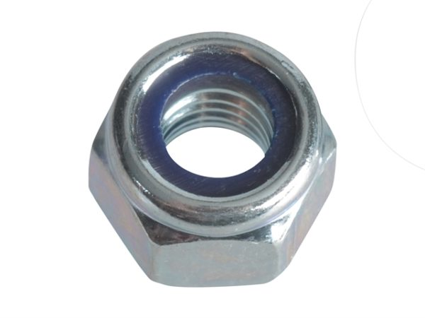Nyloc Nuts & Washers Zinc Plated M6 Forge Pack 25