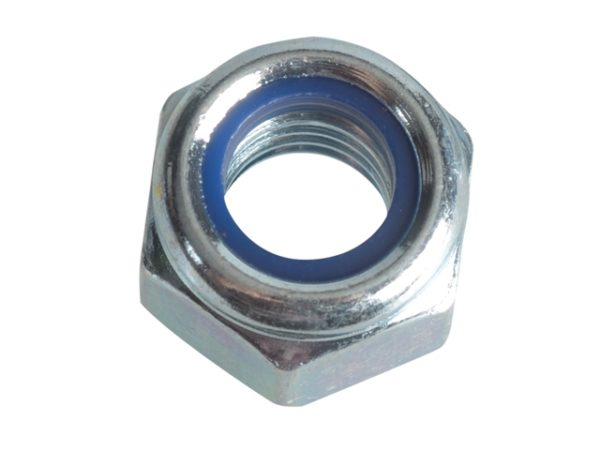 Nyloc Nuts & Washers Zinc Plated M8 Forge Pack 12