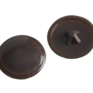 Pozi Cover Cap Dark Brown No.6-8 Forge Pack 50