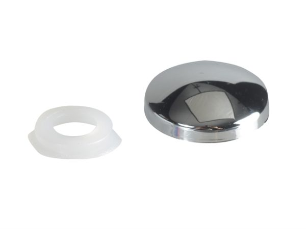 Domed Cover Cap Chrome No. 6-8 Forge Pack 20