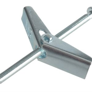 Plasterboard Spring Toggle ZP M3 X 50mm Forge Pack 8