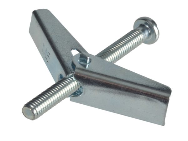 Plasterboard Spring Toggle ZP M5 X 50mm Forge Pack 6