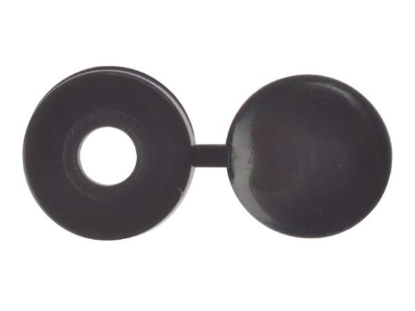 Hinged Cover Cap Black No.10-12 Bag 100