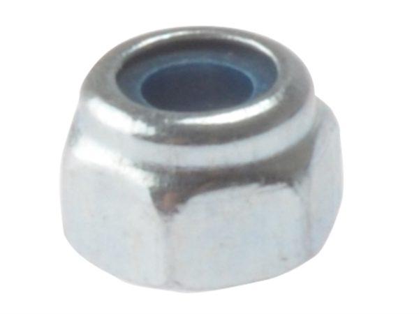 Hexagon Nut & Nylon Insert ZP M10 Bag 50